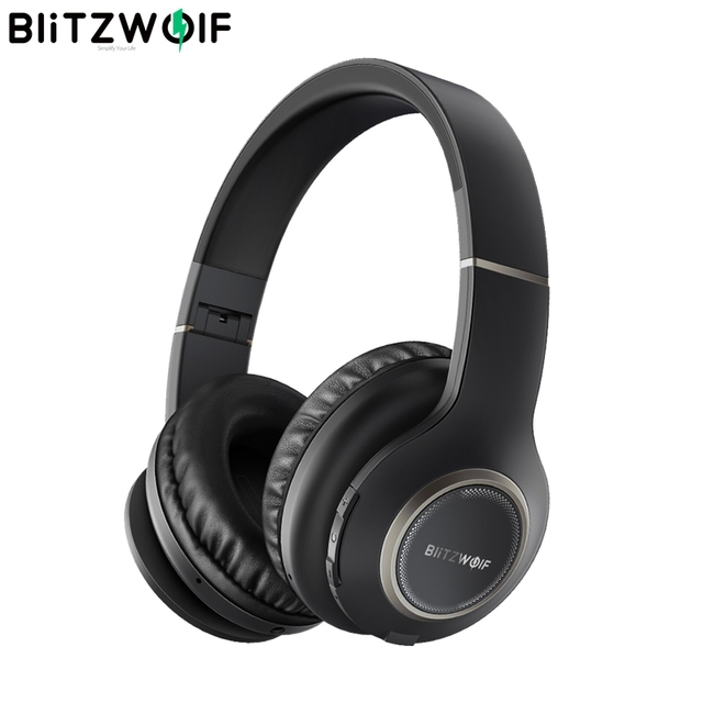 BlitzWolf BW-HP0 Headphones Bluetooth With Microphone