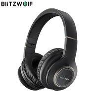 Blitzwolf BW-HP0 ワイヤレスヘッドフォン bluetooth ヘッドセット折りたたみマイク pc 、携帯電話用 Mp3