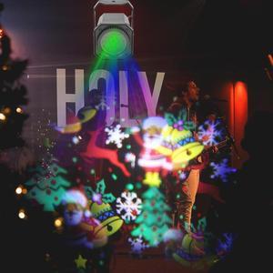 Image 5 - Modèle de noël LED projecteur Laser coloré rotatif scène projecteur lumières DJ Disco lampe pour KTV fête barre de mariage maison