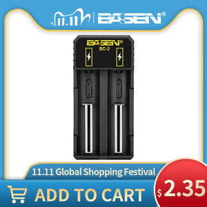 Image 1 - Battery charger 18650  26650 21700 Li liion battery Smart Charger with charger EU USB cable  lithium battery 5v 2A wall adaptors