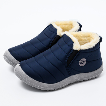 Boots Winter Shoes For Men Waterproof