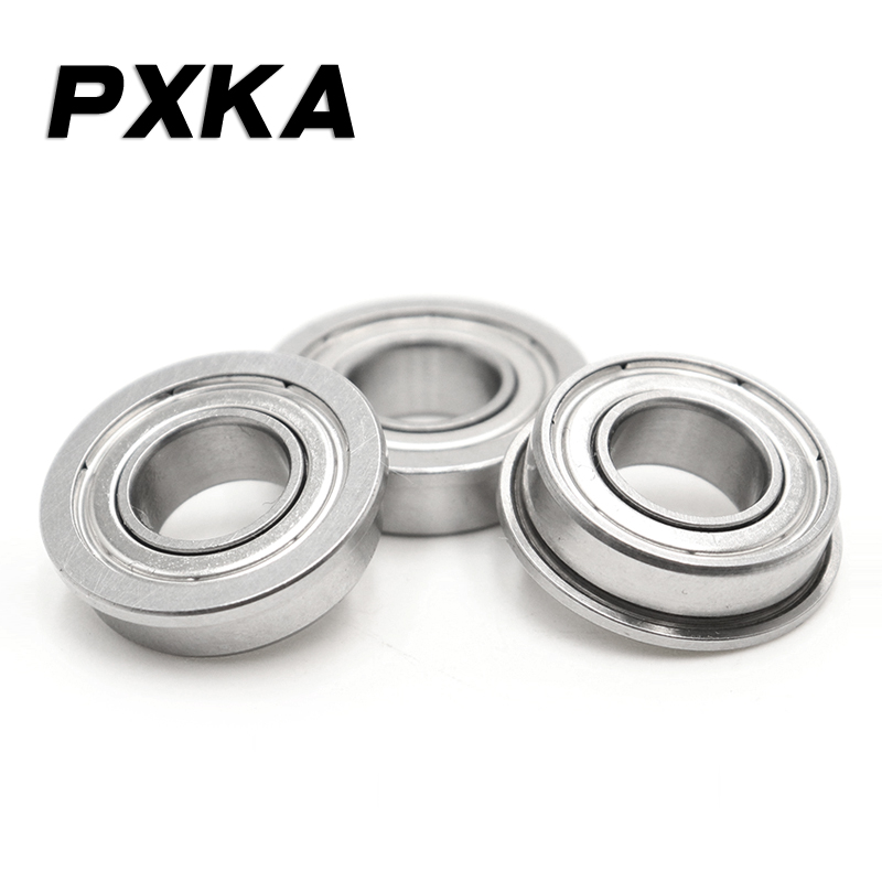 Free shipping with flange flange bearing FR168ZZ 6.35*9.525*3.175 MM, F6901ZZ F6901-2RS 12*24*6 mm,