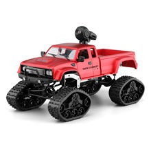 Hotty Toy 1:16 Rc Truck Remote Control Cars Pickup Heavy Off-road Vehicle WIFI HD Camera Car