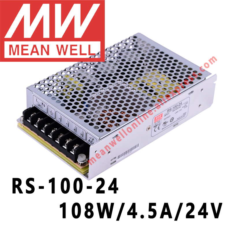 100w 12 24vdc Single Output Switching