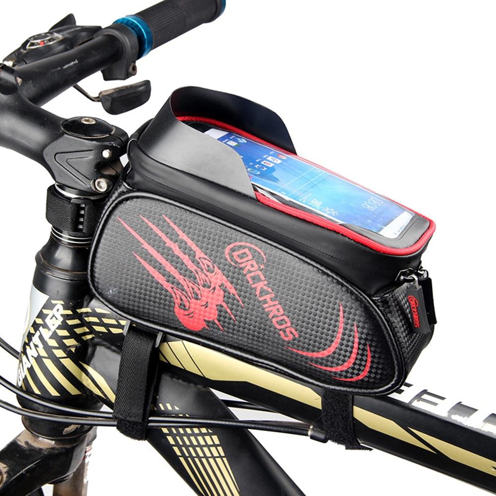 Велосипедный Спорт Водонепроницаемый седельная сумка Топ труба
