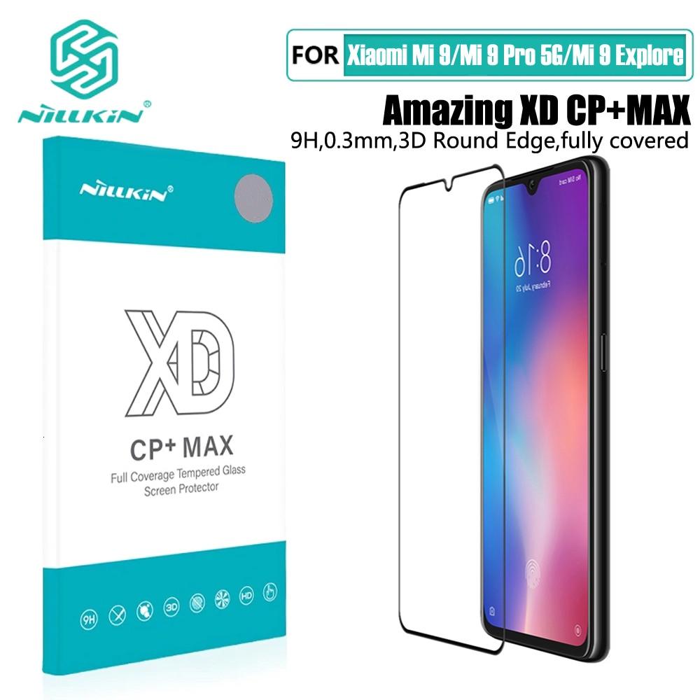 For Xiaomi Mi 9 Tempered Glass For Xiaomi Mi 9 SE Screen Protector NILLKIN Amazing H+PRO CP XD Glass Film Mi 9 Pro 5G Explore