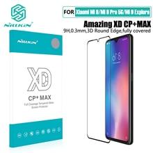 for xiaomi mi 9 강화 유리 for xiaomi mi 9 SE 스크린 보호기 NILLKIN 놀라운 H + PRO CP XD 유리 필름 mi 9 Pro 5G