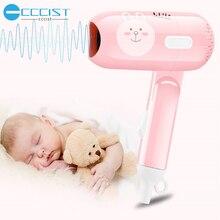 цена на CCCIST Mini Hot Cold Blower Portable Hair Dryer For Hair Blow Dryer Hair Professional Brush Hairdryer Machine Travel Hairdryer