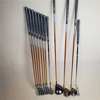 Golf left hand club katana SWORD set driver + 3/5 fairway wood + iron + wedge + putter graphite golf club no bag free Shipping