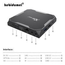 4GB RAM 32GB 64GB ROM Set top Box X96Max TV Box Für Android 9,0 S905x3 8K smart Media Player 2G16G QuadCore 2,4G & 5G Wifi