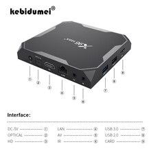 4GB RAM 32GB ROM 64GBชุดกล่องด้านบนX96Maxกล่องทีวีสำหรับAndroid 9.0 S905x3 8Kสมาร์ทMedia Player 2G16G QuadCore 2.4Gและ5G Wifi