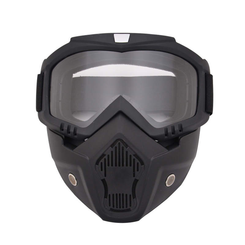 Anti-impact Military Tactical Mask & Goggles Full Face Paintball Shooting Protective Mask Shockproof Airsoft CS War Game Mask