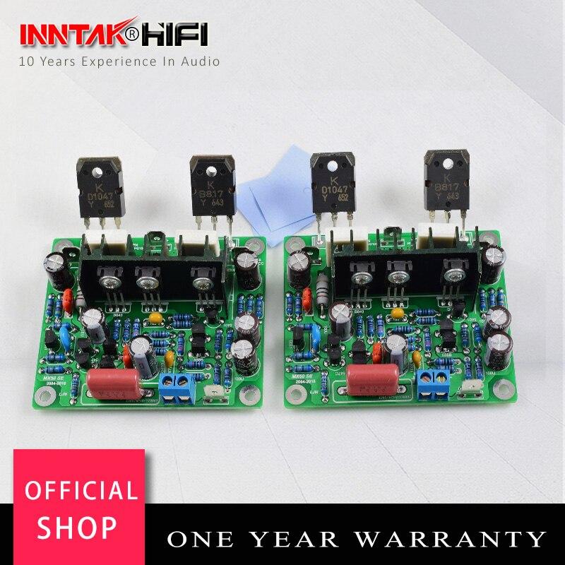 1 par de alta fidelidade mx50 se 2.0 canais 100w + 100 amplificador potência kit diy