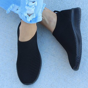 Women Shoes Slip On Women Flats Plus Size 43 Socks Sneakers White Flat Shoes Female Casual Footwear Summer Autumn Zapatos Mujer