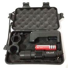 Zoom XM-L2 U3 lampe de poche Led torche extérieure pour Camping 5 Mode 1000 Lumens ampoules 18650 batterie Rechargeable aluminium étanche