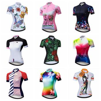 Cycling Jersey Women Bike Top Shirt Short Sleeve MTB mountain Ropa Maillot Ciclismo road Racing Bicycle Clothing female  summer new ant quick dry cycling jersey summer short sleeve mtb bike clothing ropa maillot ciclismo racing bicycle clothes 5101