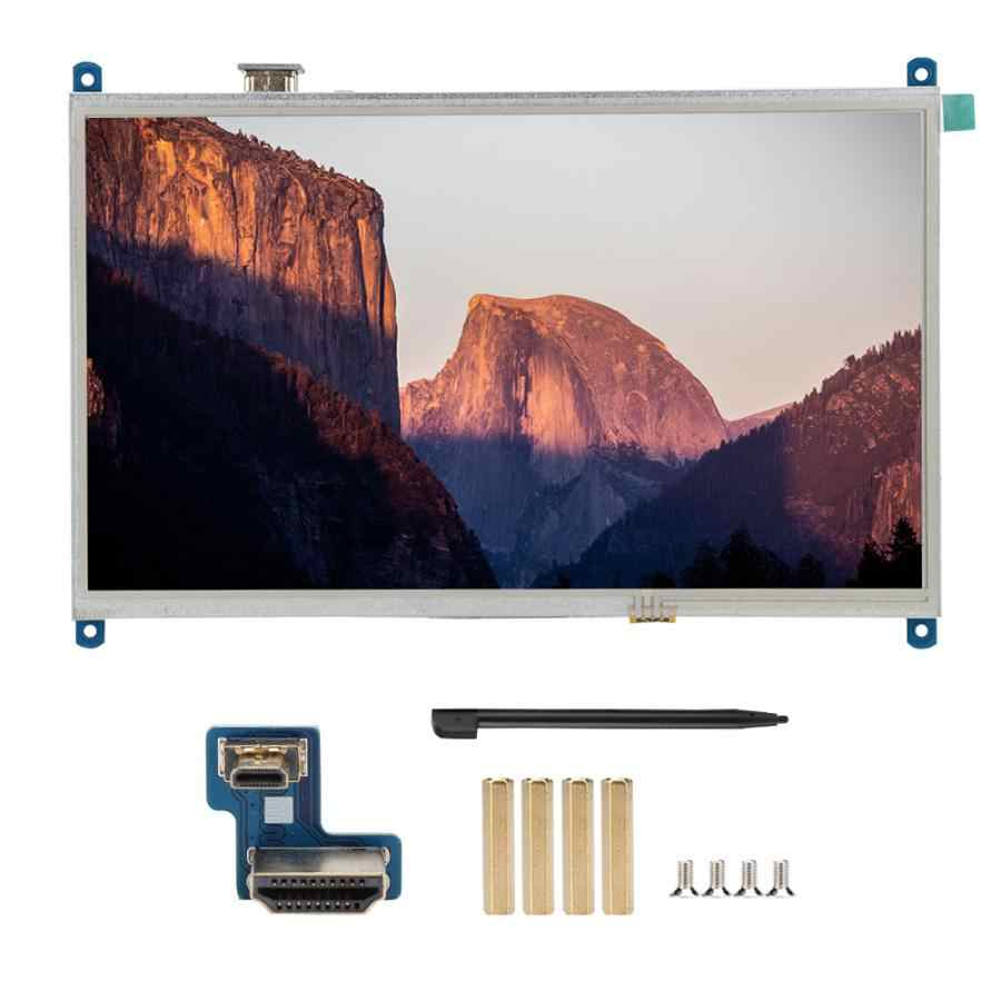 10.1 بوصة 1024x600 الخلفية LCD شاشات تعمل باللمس tft عرض ل التوت بي 4B مع محول