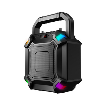 Portable Speaker Bluetooth 5.0 Outdoor Wireless 3D Stereo Heavy Bass FM Radio Support FM TF Card AUX Party Subwoofer