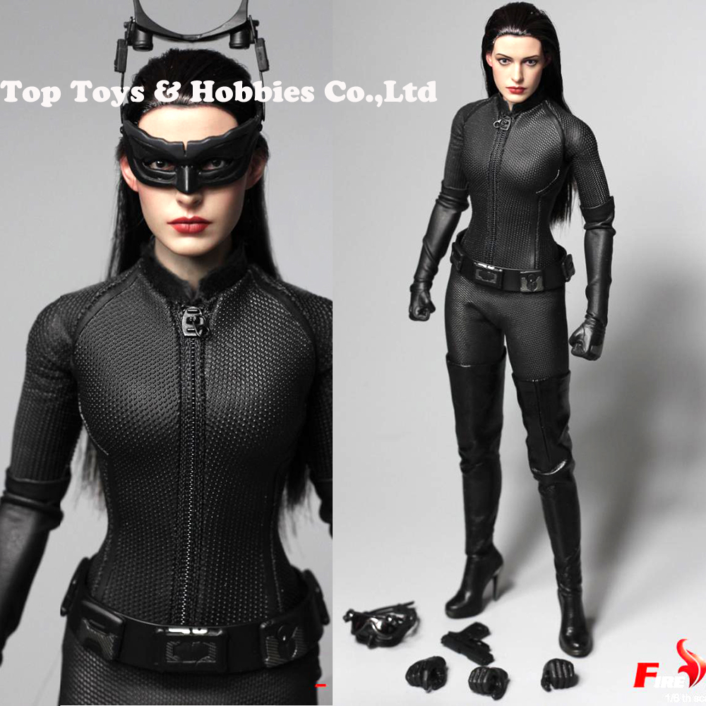 Full Set Figure Toy 1/6 Scale Catwoman Selina Kyle The Dark Knight Rises Anne Hathaway Figure FIRE A025 For Collection