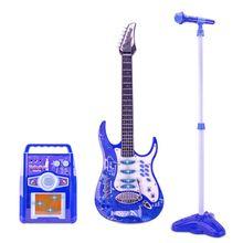Набор музыкальных игрушек детский набор микрофонов для бас гитары