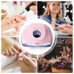 Image 5 - SUN M3 180W UV LED Lamp Nail Dryer Dual UV Lamp For Curing UV Gel Nail Polish With Sensor Smart Timer Lamp For Nails