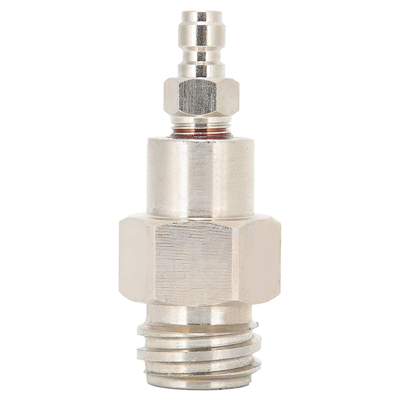 8mm CO2 Tank Adapter Male Soda Machine Connector Soda Machine Thread Tr21-4 Quick Disconnect Connector for Soda Club