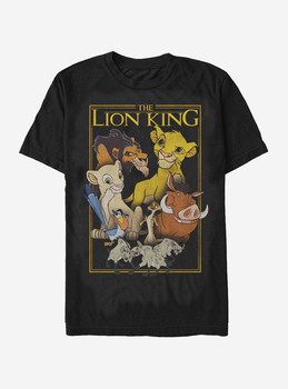 Lion King Pride Land Characters T-Shirt Cotton O-Neck Short Sleeve Mens T Shirt New Size S-3XL