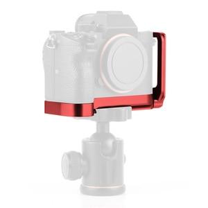 Image 1 - L Plate Bracket Camera Hand Grip Camera Houder Voor Sony A7RIII A7M3 A9 A7R3 Met Wrench Release Grondplaat & Side plaat