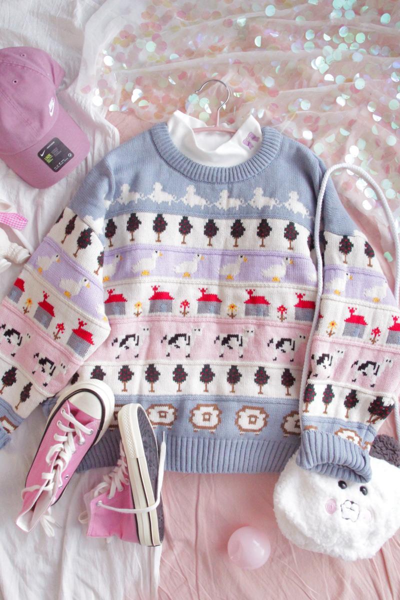 Vintage Farm Sweater  1