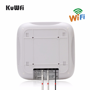 Image 4 - KuWFi Ceiling Mount Wireless Access Point, Dual Band Wireless Wi Fi AP Router with 48V POE Long Range Wall Mount Ceiling Router