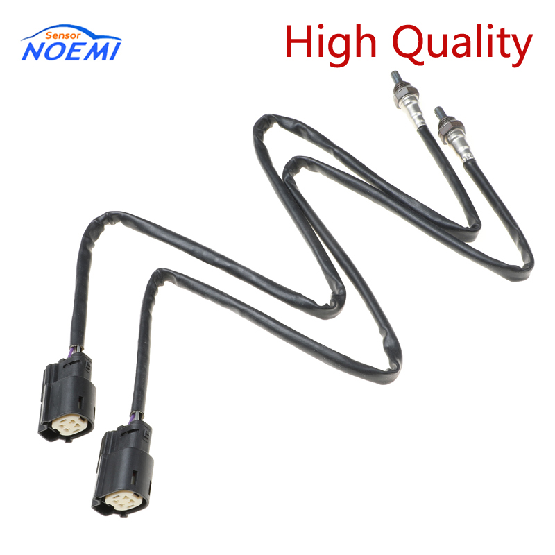 2pcs 32700006 32700026 Front & Rear Oxygen O2 Sensor For Iron Sportster 883 1200 Seventy Two Forty Eight 14-18