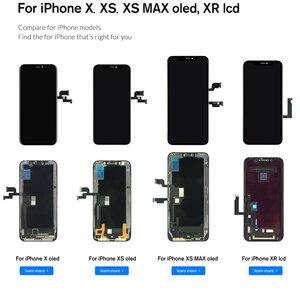 Image 4 - XR OEM จอแสดงผล LCD Flex สำหรับ Iphone XR หน้าจอ LCD โรงงานแผง Original TP Digitizer assembly
