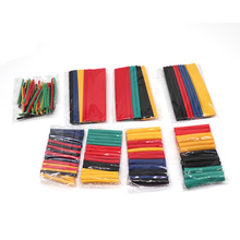 164pcs2:1 Heat Shrink Tube Thermoretractile for Cables Wire Cable Insulated Heat shrinkable