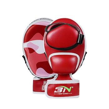 BN 1 пара, маленькие боксерские коврики MMA Muay Thai Sanda из микрофибры, тренировочные митенки для боевого искусства, пробивая мишени, EO