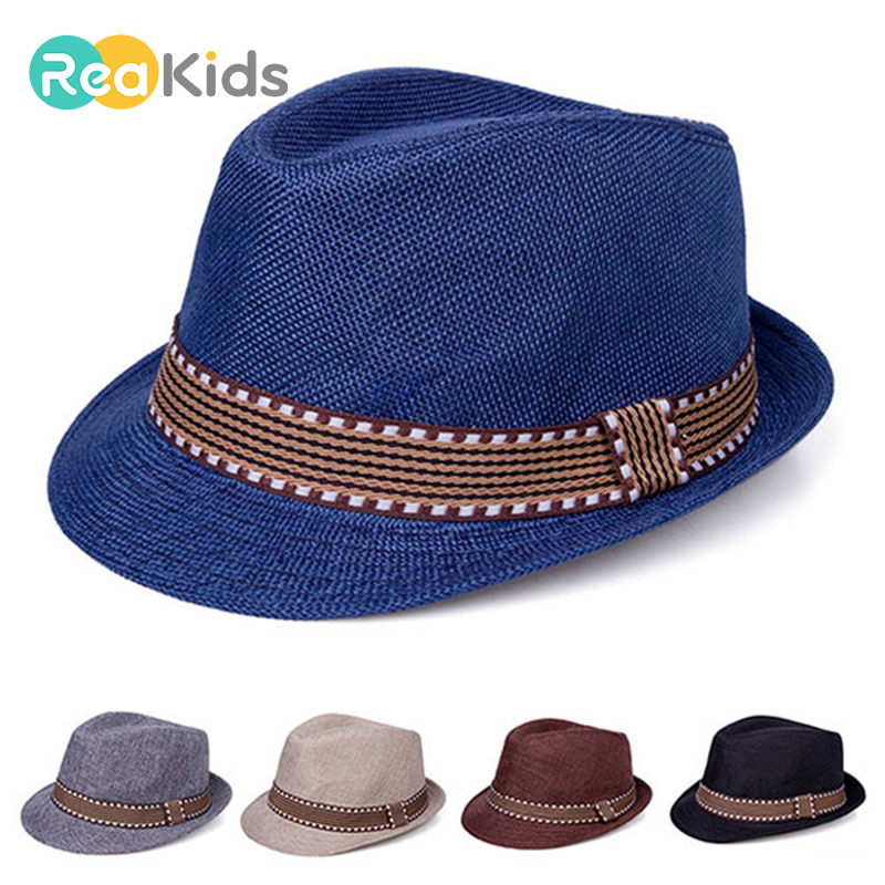 REAKIDS Baby Hat For Boys Children Cap Girls Summer Hat Toddler Infant Sun Cap Outdoor