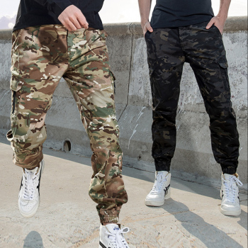 Mege Brand Tactical Jogger Pants US army Camouflage Cargo Pants Streetwear Men Work Trousers Wear Resistant Urban Spring Autumn 1