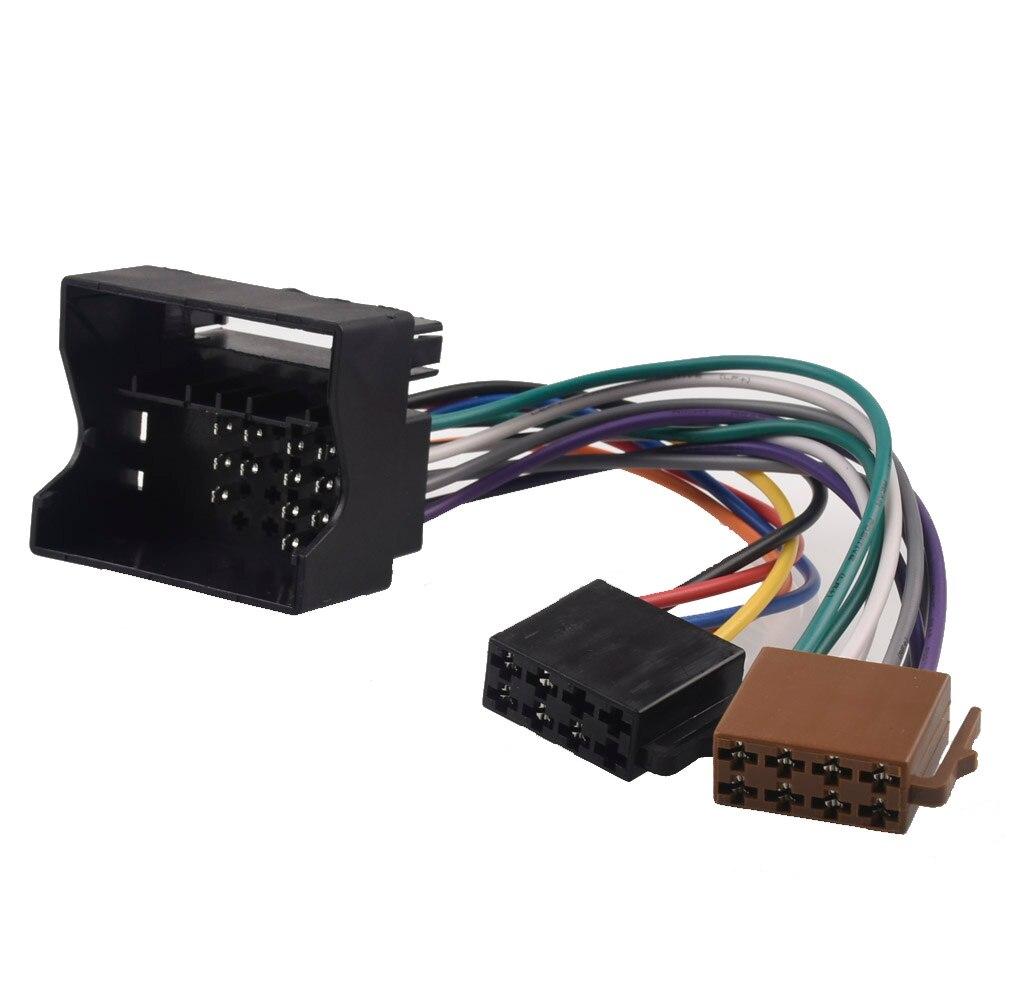 Adaptador de rádio do carro iso interruptor cabo para bmw mini cooper e81 e82 e87 e88 e65 e66 e67