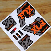 2018 Fox 36 Mountain Bike Front Fork replacement Stickers for fox MTB Race Dirt Decals free shipping