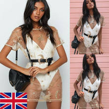 2019 Baru Wanita Musim Panas Renda Rumbai Crochet Bikini Cover Up Pantai Top Kaftan Caidigan Pantai Baju Renang Cover Up Pantai Gaun(China)