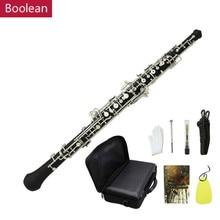 Изысканный oboe C Ключ Мельхиор посеребренный Начинающий ученик+ защитный чехол