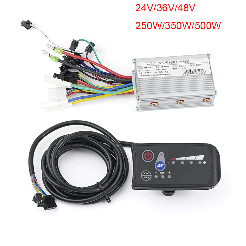 24/36/48/V Ccontroller 250/350/500W Electric Bicycle Conversion Kit Brushless Controller For Motor Display Ebike LED Display Kit