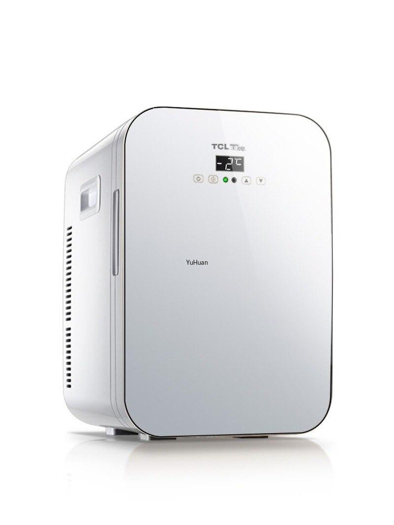 12V 220V 20L Car Fridge Car Home Dual Purpose Dual Core CNC Refrigerator Mini Refrigerator  Mini Fridges   Refrigerators