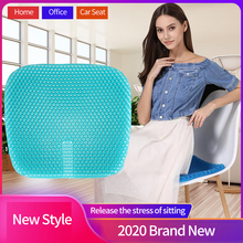 Gel Cushion Chair Cool-Pad Latex Honeycomb Double-Layer Adults New The Seat LISM Breathable