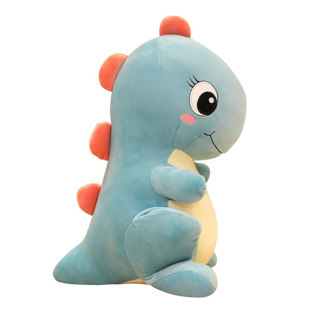 Cute Dinosaur Plush Toy Dinosaur Dude Tyrannosaurus Dude Girl Heart Down Pillow Holder Children Gift Doll