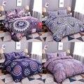 Домашний Комплект постельного белья с мандалой  3D  богемный  пододеяльник с цветами  постельное белье  двуспальный  двуспальный  размер