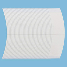 Lace Front Wig Tape - 36 Pieces, Water-Proof Strong Adhesive Double Sided Lace Wigs Tape (white) diy cotton nylon lace adhesive tape white