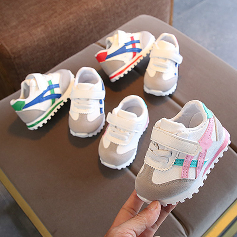 Toddler Baby Shoes For Girl Soft Bottom Antiskid Children Casual Shoes Breathable Outdoor Sports Kids Shoes Newborn Boy Sneakers 4