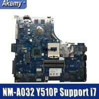 Y510P VIQY1 NM A032 REV: 1 0 laptop motherboard Für Lenovo Y510P NM A032 Y510P motherboard Teste GT755/GT750 Unterstützung i7-in Motherboards aus Computer und Büro bei
