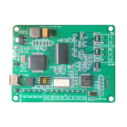 HT Series PTZ Motor Control Board Servo Motor Set DC Brushless Motor Driver CAN Communication 485