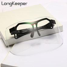 Новинка 2020 солнцезащитные очки большого размера longkeeper